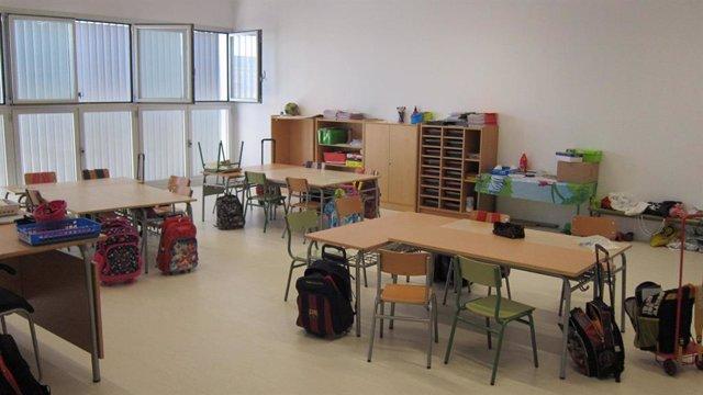 Aula D'Un Col·legi D'Infantil I Primària