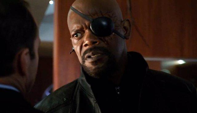 Nick Furia (Samuel L. Jackson) en MARVEL: Agentes de S.H.I.E.L.D.