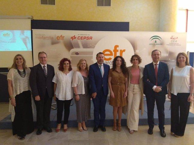 Presentación del Barómetro sobre la conciliación en Andalucía.