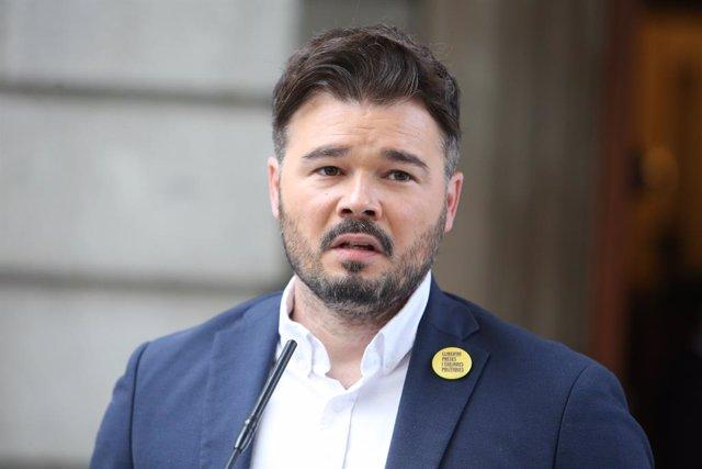 Gabriel Rufián, ERC (Arxiu)