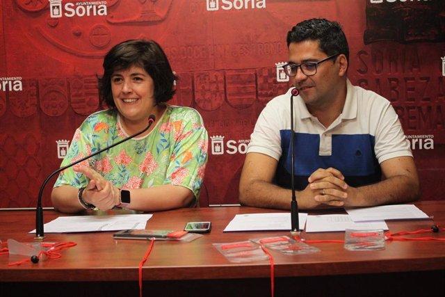 Ana Alegre y José Carlos Agustina