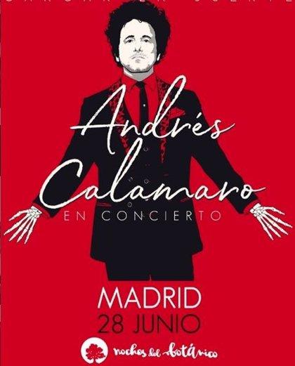 """Andrés Calamaro cuelga el cartel de """"agotado"""" en su concierto en Noches del Botánico"""