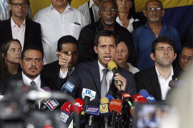 Juan Guaidó, autoproclamado presidente encargado de Venezuela