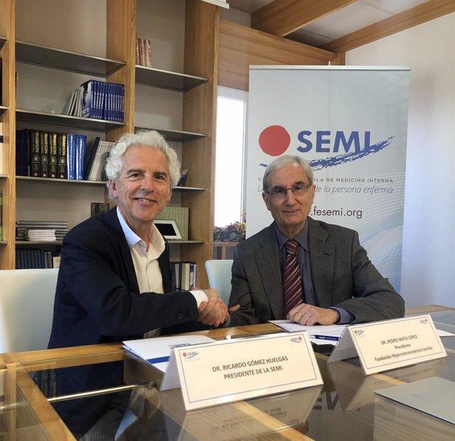 Firma acuerdo SEMI y FHF