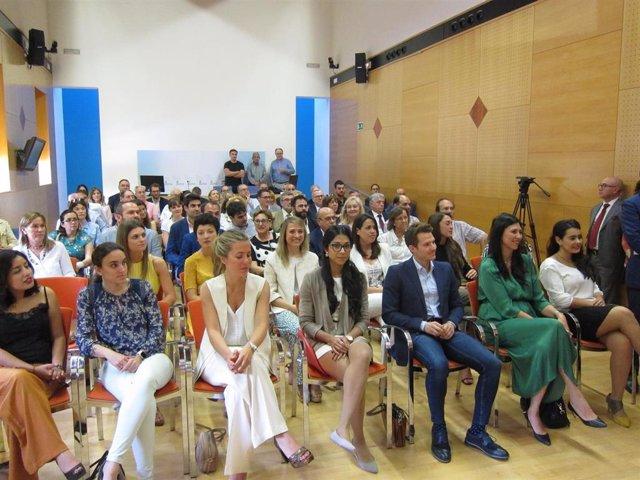 Acto de entrega de los Premio José María Segovia de Arana