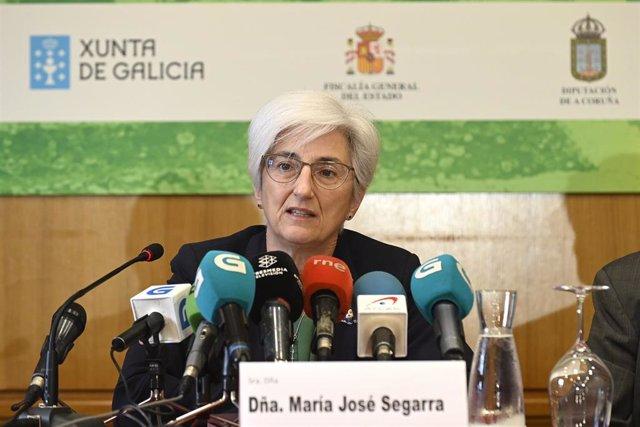 La Fiscal General del Estado, María José Segarra, inaugura la Escuela de Verano del Ministerio Fiscal en el Pazo de Mariñán (Bergondo, A Coruña)