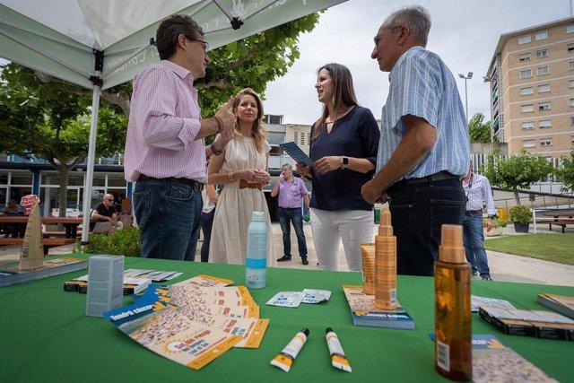La concejal de Deportes, Cristina García, presenta la campaña #solsinriesgo