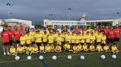 Comienza el VII Campus Infantil de Fútbol de la UCA en su complejo deportivo de Puerto Real