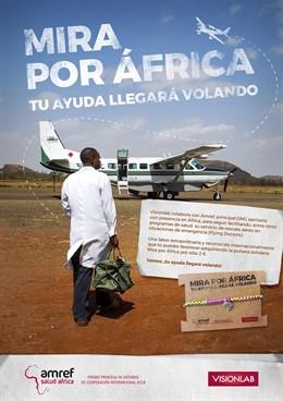 Cartel campaña 'Mira por África'