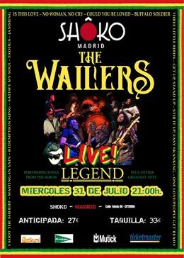 THE WAILERS EN MADRID