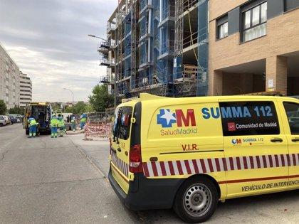 Muere un trabajador de 58 años al precipitarse por el hueco del ascensor de un edificio en obras en Vallecas