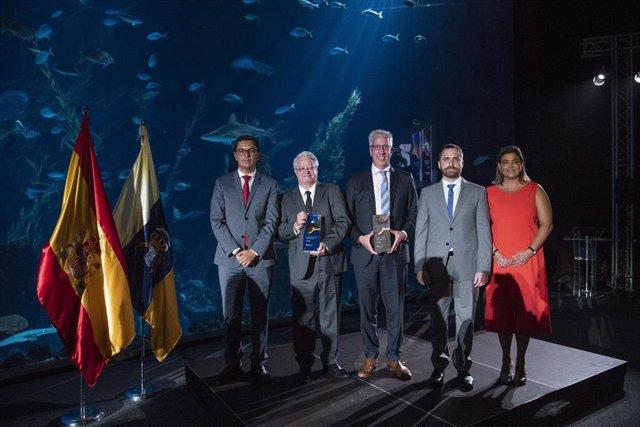 [Grupocanarias] Np Y Fotos: El Trofeo De Los Premios De Turismo Islas Canarias Logra El Bronce En Los Galardones Canarias De Diseño 2019