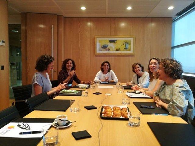 Reunión para incorporar la estrategia española contra el cambio climático a la tarea de España Global