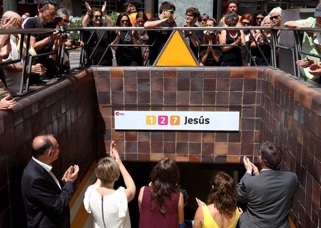 AVM3J, metro, aniversario, Valencia