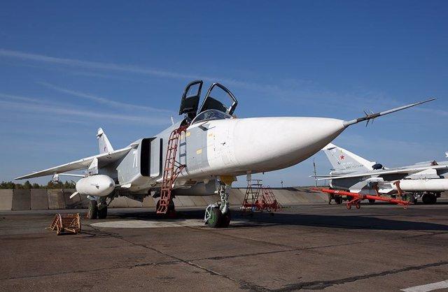 Aviones de la Fuerza Aérea rusa (Imagen de archivo)