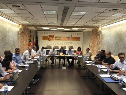 La Ejecutiva del PAR ratifica el apoyo a Lambán (PSOE) en la investidura y estudiará su entrada en el nuevo Gobierno