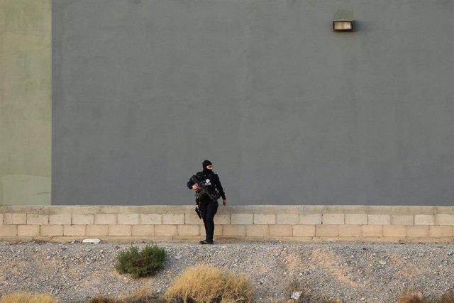 Mujer policía en Ciudad Juárez