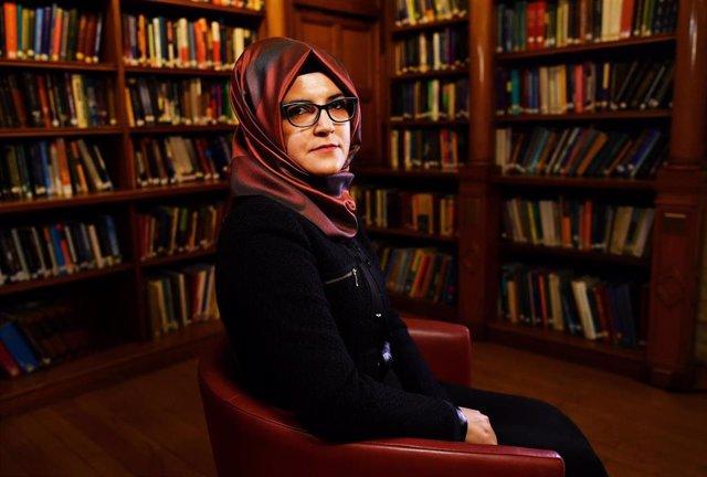 Hatice Cengiz, pareja sentimental del periodista asesinado Yamal Jashogi