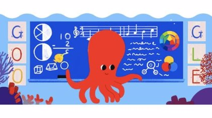 Google celebra el Día del Maestro en Guatemala con un animado 'doodle'