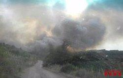 Controlat un incendi a Biosca (Lleida) que ha afectat 30 hectàrees de vegetació (BOMBERS DE LA GENERALITAT)