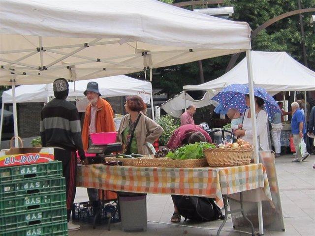 Mercado Agroecológico en Aragón