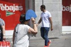 Una desena de províncies estan en risc per temperatures de 36ºC i de fins a 38ºC a Aragó i Catalunya (OSCAR DEL POZO  - Archivo)