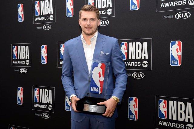 Luka Doncic, mejor novato de la NBA