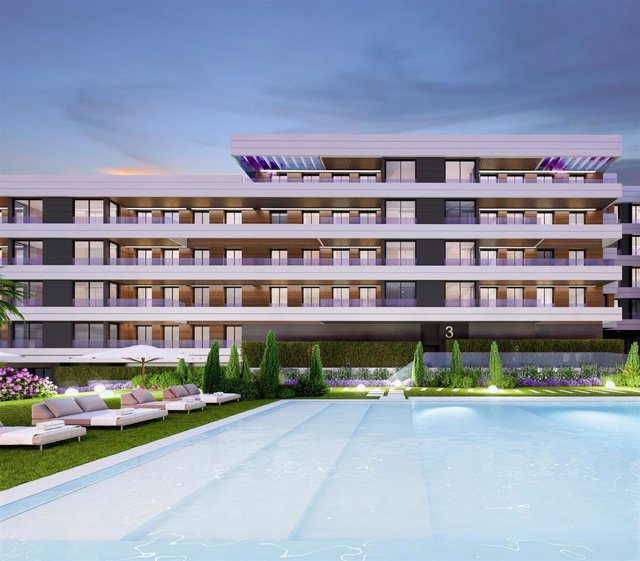 Promoción de Amenabar en Alcobendas (Madrid), con 170 viviendas