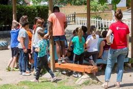 Campaña de verano de campamentos externos y colonias urbanas de 'Save the Children'
