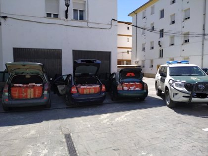 Siete detenidos en Málaga en dos operaciones contra el contrabando de tabaco