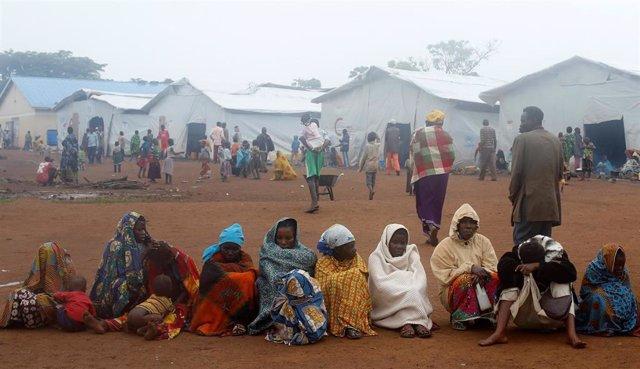 Refugiados congoleños en el campo de Kyangwali (Uganda)