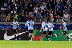 L'Uruguai guanya Xile i se citarà amb el Perú en els quarts de la Copa Amèrica (Warley Soares/AM Press via ZUMA  / DPA)