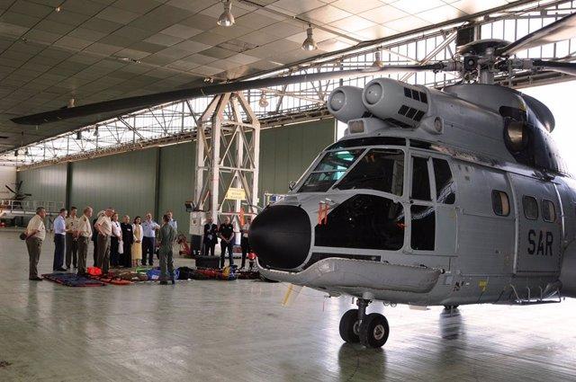 Instalaciones de la Base Aérea de Son San Juan