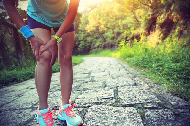Dolor de rodilla, deporte,