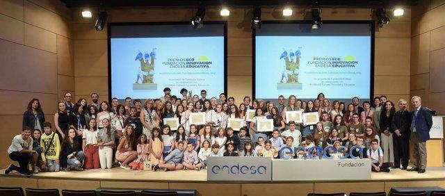 Entrega de los III Premios a la Ecoinnovación Educativa