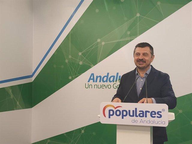 El vicesecretario general del PP-A, Toni Martín