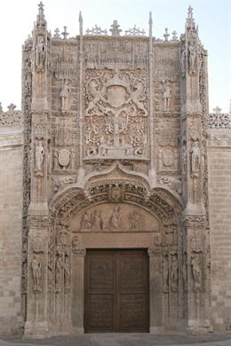 Fachada de la sede del Museo Nacional de Escultura de Valladolid