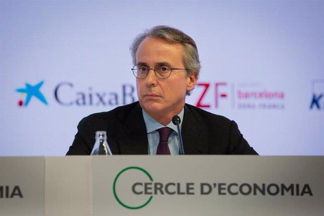 Javier Faus en la Reunión del Círculo de Economía (Archivo)