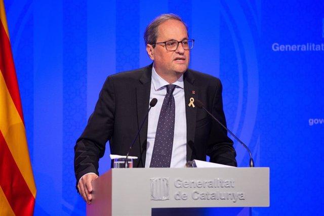 Quim Torra, presidente de la Generalitat (Archivo)