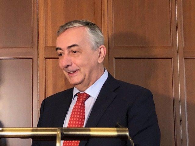 El director general de la Fundación de Cajas de Ahorros (FUNCAS), Carlos Ocaña