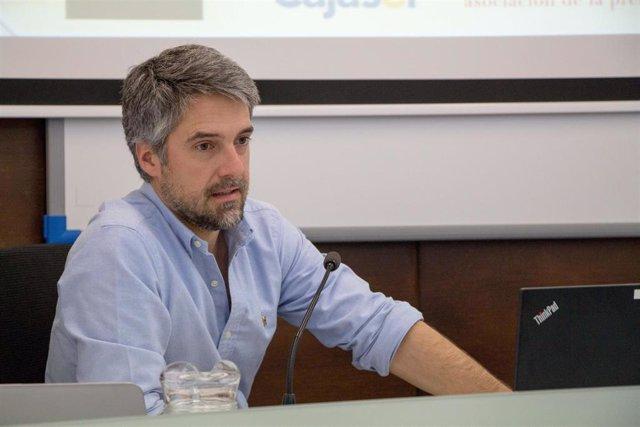 Carlos Franganillo, periodista de TVE en los cursos de verano de la UPO