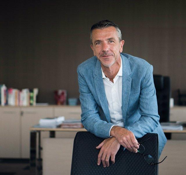 El CEO de Eurofragance, Laurent Mercier
