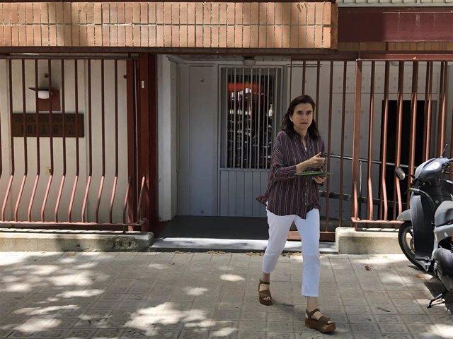 La portavoz del Colegio Mayor Bonaigua, Ció Patxot