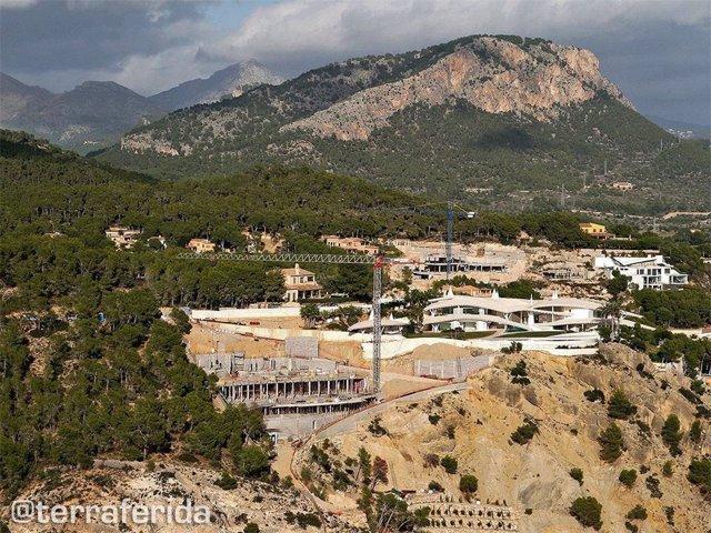 Imatge de Cala Blanca, a Andratx, municipi situat a la Serra de Tramuntana.