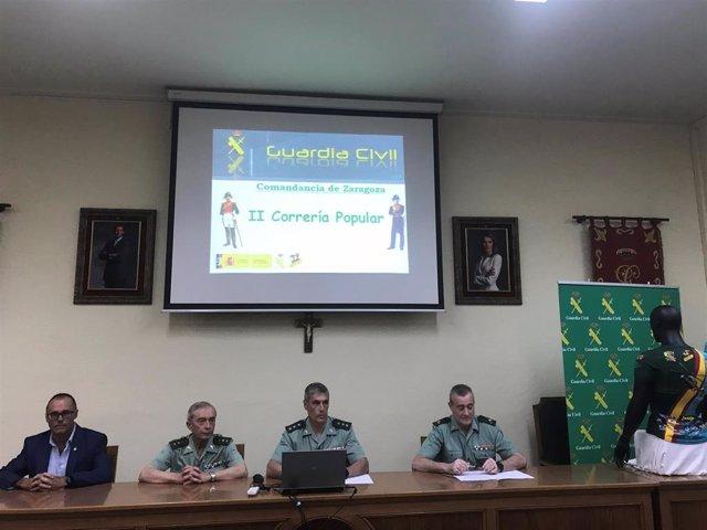 Presentacion de la II Correría de la Guardia Civil Zaragoza