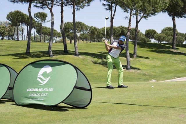 Golf málaga promoción segmento estacionalidad participación golfista deporte ocio turismo turista