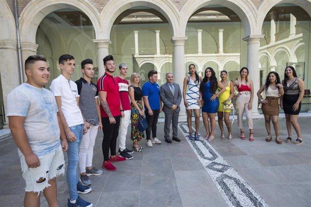 Participantes en el programa Atrévete