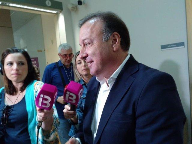 El diputato de Ces por Baleares al Congreso, Joan Mesquida.