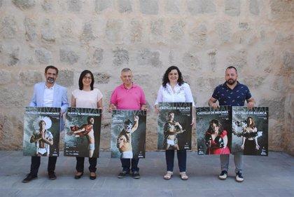Siete fortalezas brillarán con luz propia en los II Festivales de los Castillos de Aragón
