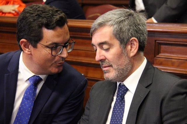 CONSTITUCIÓN X LEGISLATURA (PABLO RODRÍGUEZ Y FERNANDO CLAVIJO)